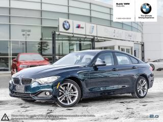 Used 2017 BMW 430i xDrive Gran Coupe AWD | REAR VIEW CAMERA | SIRIUS XM RADIO for sale in Oakville, ON
