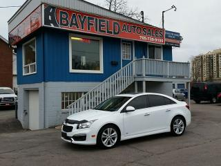 Used 2015 Chevrolet Cruze 2LT RS **Leather/Sunroof/Only 29k!!** for sale in Barrie, ON