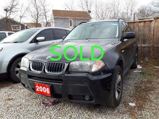 Used 2006 BMW X3 3.0i-AMAZING PRICE-2YRS WARRANTY for sale in Scarborough, ON