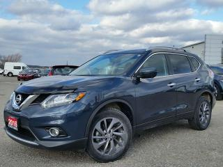 Used 2016 Nissan Rogue SL AWD  w/NAV,all leather,heated seats,rear camera,panoramic roof for sale in Cambridge, ON