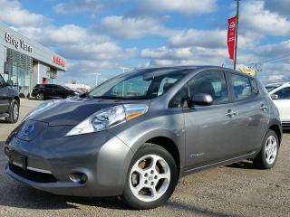 Used 2015 Nissan Leaf SV EV-zero emission  w/NAV,heated seats,rear camera, for sale in Cambridge, ON