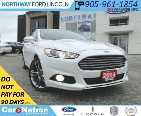 Used 2014 Ford Fusion Titanium | NAV | REAR CAM | SUNROOF | LEATHER | for sale in Brantford, ON