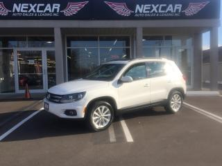 Used 2014 Volkswagen Tiguan 2.0TSI COMFORTLINE AUT0 AWD LEATHER PANO/ROOF 115K for sale in North York, ON