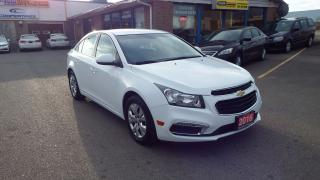 Used 2016 Chevrolet Cruze LT/BACKUP CAMERA/IMMACULATE $13000 for sale in Brampton, ON