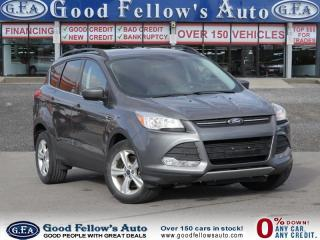 Used 2014 Ford Escape SE MODEL, 4WD, 1.6 ECO, NAVIGATION,REARVIW CAMERA for sale in North York, ON
