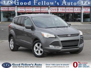 Used 2014 Ford Escape SE MODEL, FWD, 1.6 ECOBOOST, REARVIEW CAMERA for sale in North York, ON