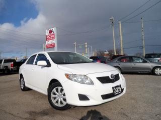 Used 2009 Toyota Corolla AUTO HEATED MIRROR AUX CRUSE CONTROL SIDE AIRBAG for sale in Oakville, ON