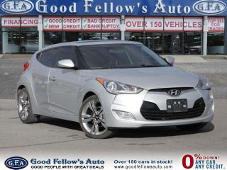 Used 2013 Hyundai Veloster COUPE, SUNROOF, NAVIGATION, REARVIEW CAMERA for sale in North York, ON