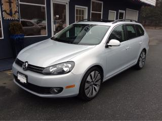 Used 2013 Volkswagen Golf Wagon sports wagon for sale in Parksville, BC