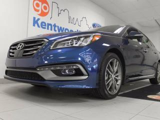 Used 2017 Hyundai Sonata 2.0T Sport Ultimate, NAV, sunroof, leather heated seats for all, heated steering wheel for sale in Edmonton, AB