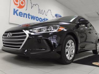 Used 2018 Hyundai Elantra Elantra with black on black, and heated seats for sale in Edmonton, AB