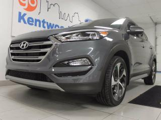 Used 2017 Hyundai Tucson Tucson 1.6T AWD with a panoramic roof, BLIS, heated seats and a back up cam for sale in Edmonton, AB
