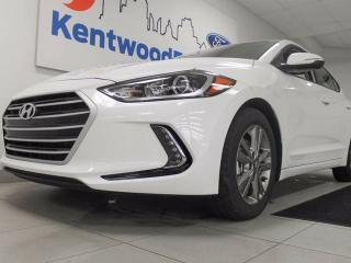 Used 2018 Hyundai Elantra Elantra with heated seats and a back up cam. If you don't want white we have it in black too! for sale in Edmonton, AB