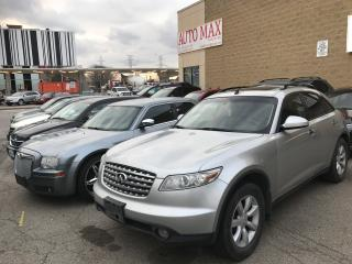 Used 2004 Infiniti FX35 for sale in North York, ON