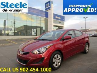 Used 2016 Hyundai Elantra L+ Auto A/C low kms!! for sale in Halifax, NS