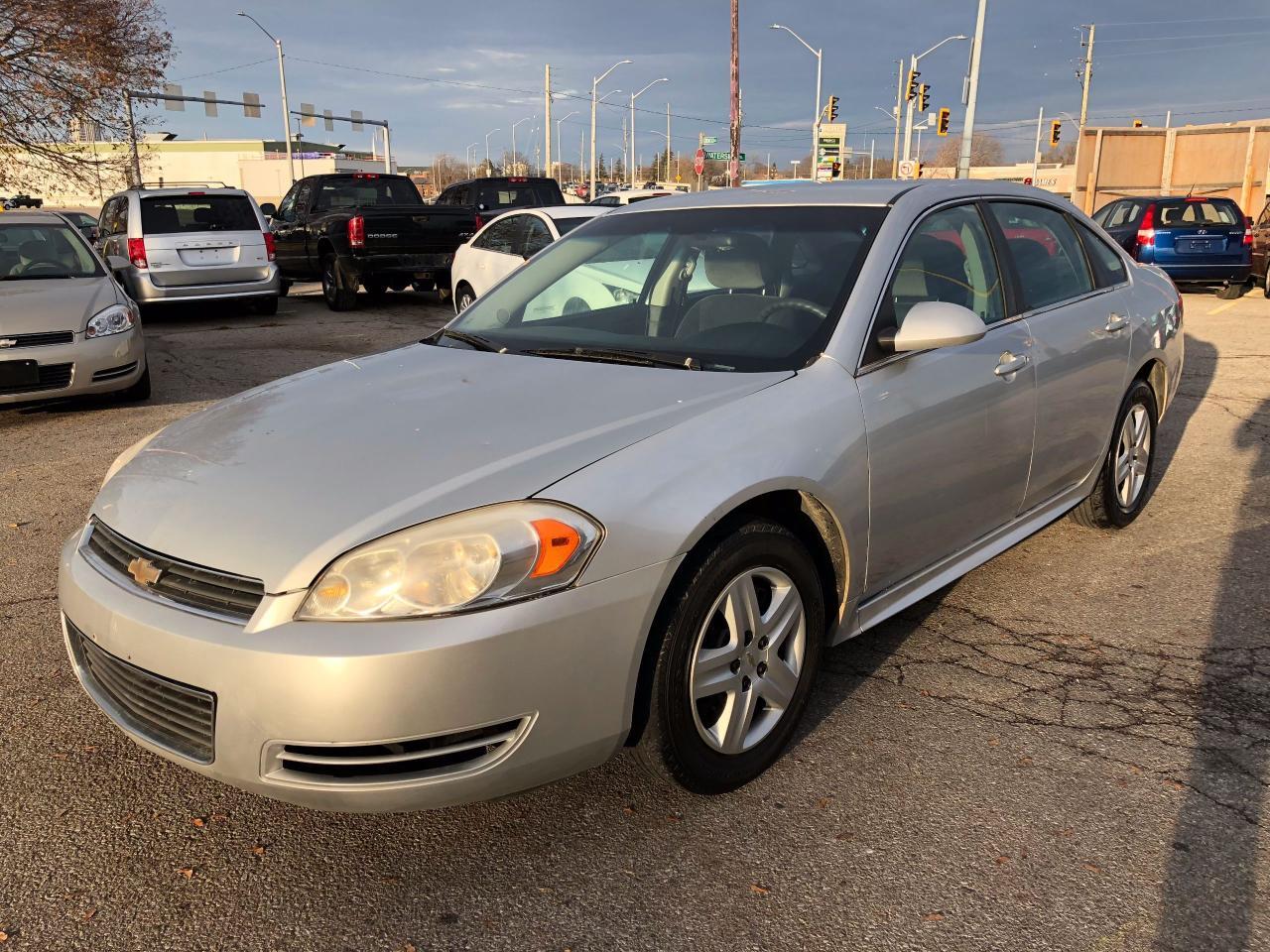 Photo of Silver 2011 Chevrolet Impala