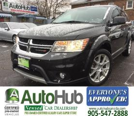 Used 2013 Dodge Journey CREW-V6-DVD-BACKUP CAMERA-7 SEATER for sale in Hamilton, ON