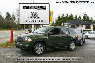 Used 2009 Jeep Compass Sport, Low Km's, Local, No Accidents, Clean! for sale in Surrey, BC