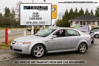 Used 2005 Acura TL Leather, Heated Seats, Sunroof, Bluetooth, Loaded! for sale in Surrey, BC