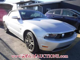 Used 2010 Ford MUSTANG GT 2D CONVERTIBLE for sale in Calgary, AB
