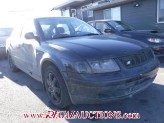 Used 1998 Volkswagen PASSAT  4D SEDAN for sale in Calgary, AB