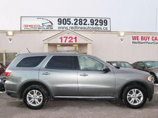 Used 2012 Dodge Durango SXT, AWD, WE APPROVE ALL CREDIT for sale in Mississauga, ON