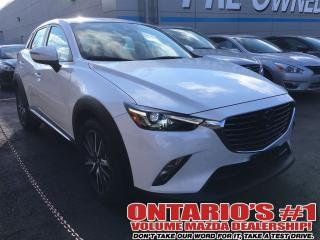 Used 2018 Mazda CX-3 GT AWD, LEATHER, SUNROOF, NAV, REVERSE CAM-TORONTO for sale in North York, ON
