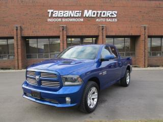 Used 2015 Dodge Ram 1500 SPORT NAVIGATION LEATHER HEMI 4X4 for sale in Mississauga, ON