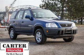 Used 1998 Honda CR-V EX + HONDA SERVICED + INSPECTED + AWD + LOCAL! for sale in Vancouver, BC