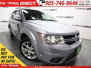 Used 2015 Dodge Journey SXT| 7-PASSENGER| NAVI| DVD| SUNROOF| for sale in Burlington, ON