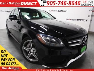 Used 2015 Mercedes-Benz C-Class C300 4MATIC| DUAL SUNROOF| NAVI| for sale in Burlington, ON