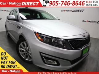 Used 2015 Kia Optima EX LUXURY for sale in Burlington, ON