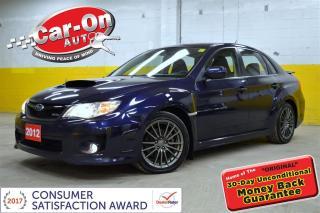 Used 2012 Subaru Impreza WRX ONLY 27,000 KM for sale in Ottawa, ON
