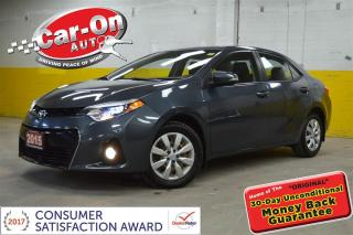 Used 2015 Toyota Corolla S LEATHER HTD SEATS, CAMERA ONLY 28,000 KM for sale in Ottawa, ON