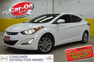 Used 2016 Hyundai Elantra GL SPORT HTD SEATS CAMERA ALLOYS for sale in Ottawa, ON