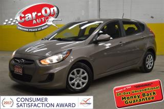 Used 2012 Hyundai Accent HATCHBACK only 61,000 km for sale in Ottawa, ON