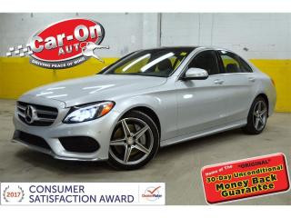 Used 2015 Mercedes-Benz C-Class C400 4MATIC NAVI   PANO ROOF for sale in Ottawa, ON