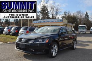Used 2013 Volkswagen Passat 2.5L comfortline |  Bluetooth, AUX/USB | BLACK LEA for sale in Richmond Hill, ON