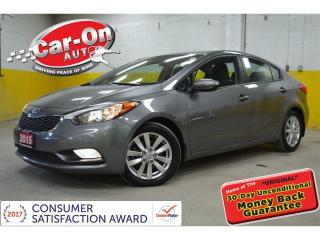Used 2015 Kia Forte Only 16,000 km, EX SUNROOF HTD SEATS, ALLOYS for sale in Ottawa, ON
