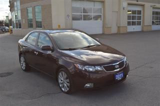 Used 2011 Kia Forte 2.4L SX - Sunroof, Heated Seats, Bluetooth for sale in London, ON