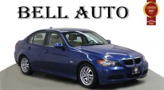 Used 2007 BMW 323i LEATHER SUNROOF HEATED SEATS for sale in North York, ON