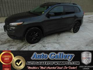 Used 2016 Jeep Cherokee Limited*4x4/Roof/Nav for sale in Winnipeg, MB