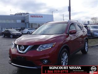 Used 2015 Nissan Rogue SV FWD CVT Heated Seats|Moonroof|Alloys|Low Ks| for sale in Scarborough, ON
