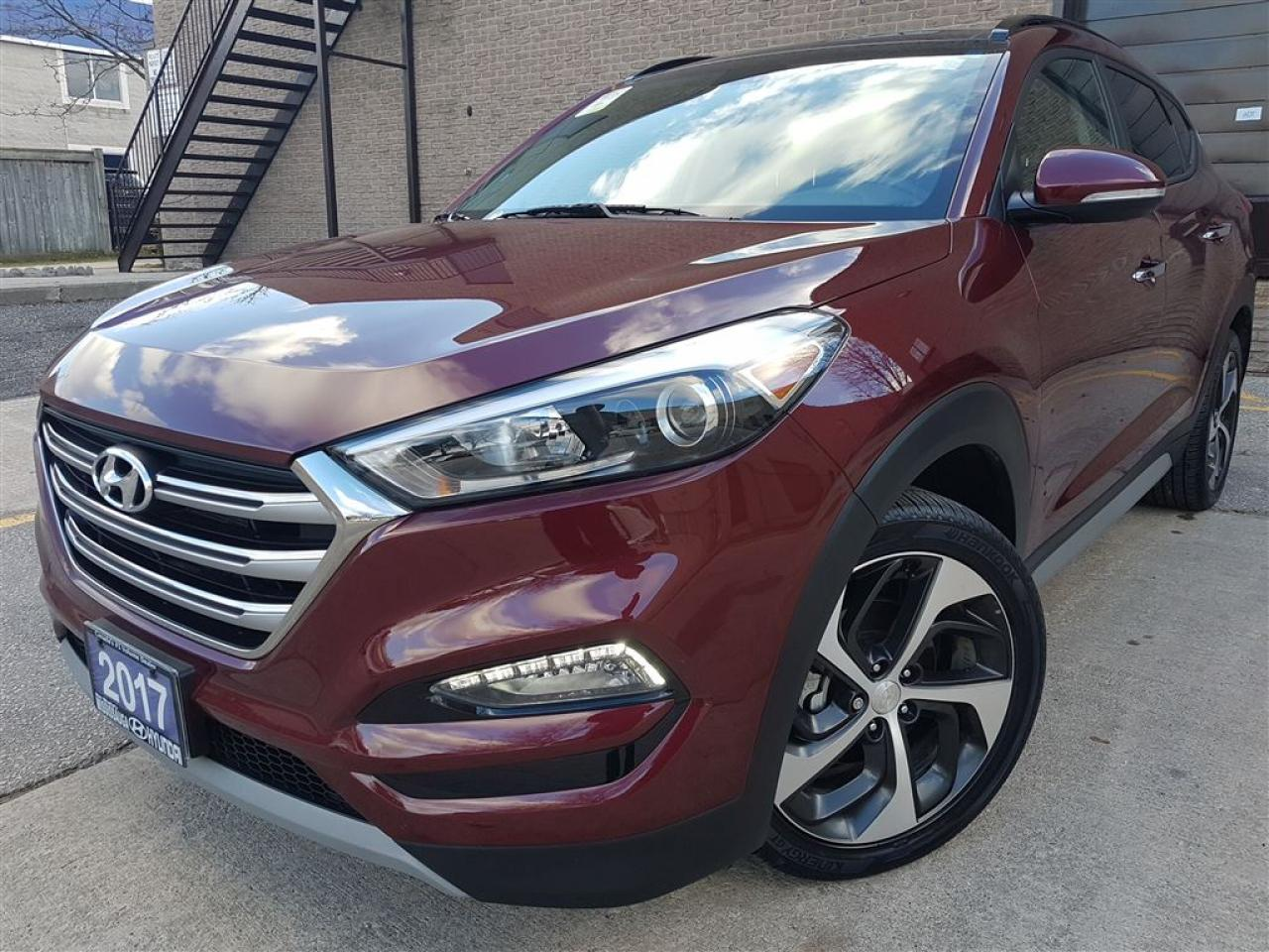 2017 Hyundai Tucson SE 1.6 Turbo-Panorama roof-Leather