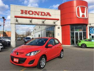 Used 2013 Mazda MAZDA2 GX, amazing mileage at 17, 503 for sale in Scarborough, ON