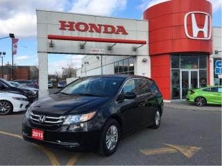 Used 2015 Honda Odyssey LX, one owner, clean carproof report for sale in Scarborough, ON
