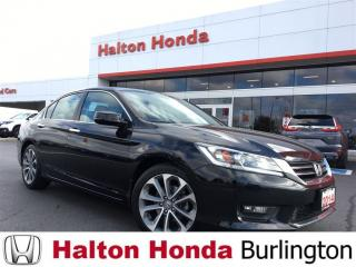 Used 2014 Honda Accord Sedan Sport for sale in Burlington, ON