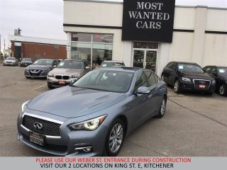 Used 2014 Infiniti Q50 Premium AWD | NAVIGATION | SUNROOF for sale in Kitchener, ON