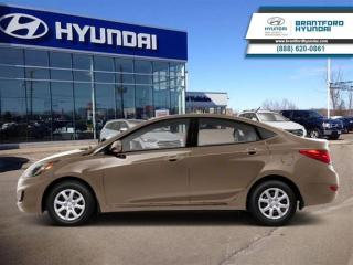 Used 2013 Hyundai Accent LOW KMS | 1-Owner | Immaculate Condition for sale in Brantford, ON