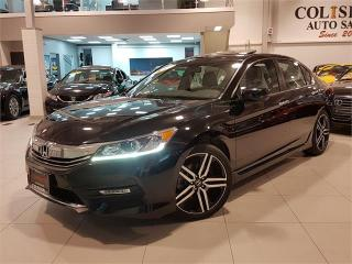 Used 2016 Honda Accord Sedan SPORT-AUTO-SUNROOF-CAMERA-ONLY 38KM for sale in York, ON